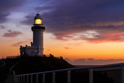 Sunrise at the lighthouse